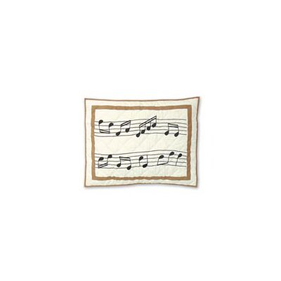 Patch Magic Music Standard Pillow Sham