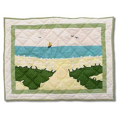 Patch Magic Ocean View Standard Pillow Sham