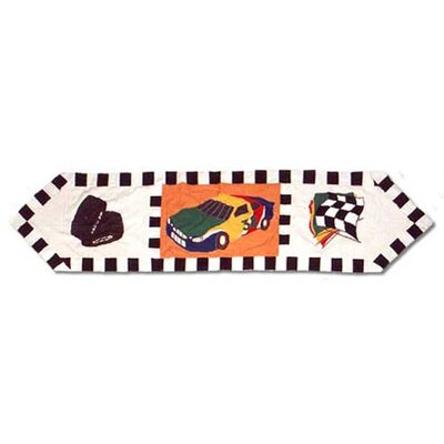 Patch Magic Racecar Table Runner