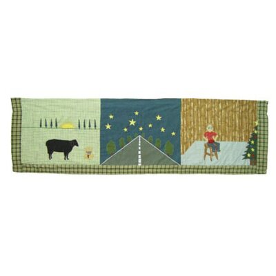 Patch Magic Rhyme Tyme Cotton Rod Pocket Tailored Curtain Valance