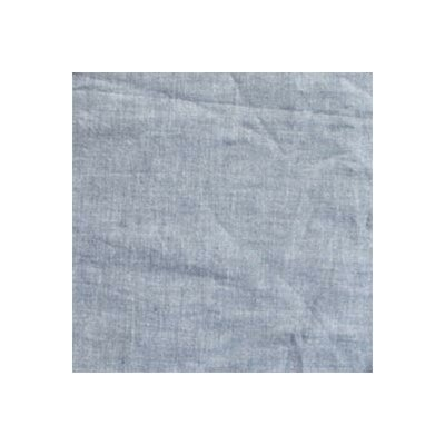 Patch Magic Blue Light - Denim Cotton Curtain Panel  (Set of 2)