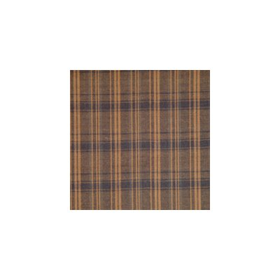 Patch Magic Dark Brown Plaid Bed Skirt / Dust Ruffle