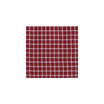 Patch Magic Red White Checks Checks Cotton Curtain Panel Pair
