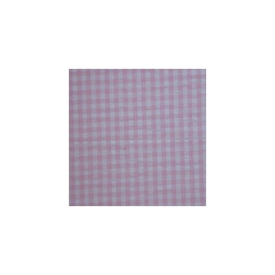 Patch Magic Baby Pink and White Gingham Check Cotton Curtain Panel Pair