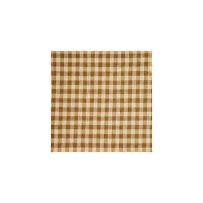 Patch Magic Brown and Golden Checks Toss Pillow