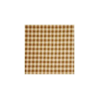 Brown and Golden Checks Toss Pillow