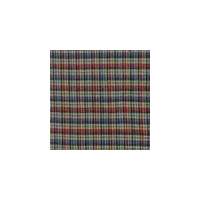 Patch Magic Tan and Blue Plaid Red Pink Line Toss Pillow
