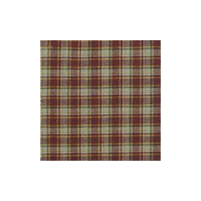 Tan and Gold Rustic Checks Pillow Sham