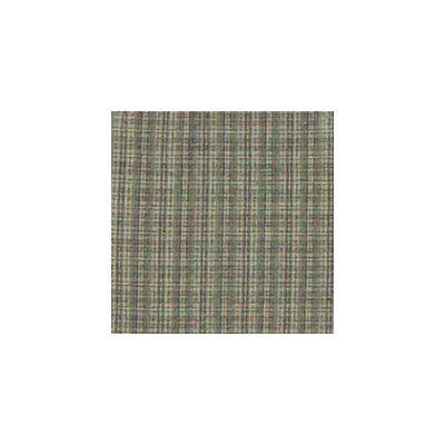 Green Sage Plaid Black and White Lines Euro Sham