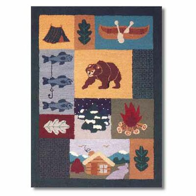 Patch Magic Cabin Kids Rug