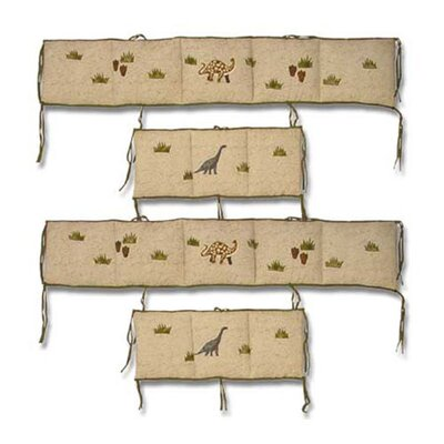 Patch Magic Dinosaur 4 Piece Bumper Pad Set