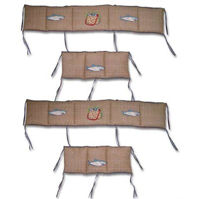 Patch Magic Gone Fishing 4 Piece Bumper Pad Set