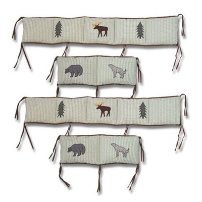 Patch Magic Mountain Whispers 4 Piece Bumper Pad Set