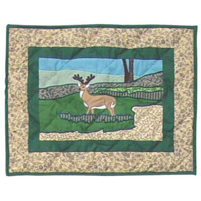 Patch Magic Wilderness Cotton Crib Toss Pillow