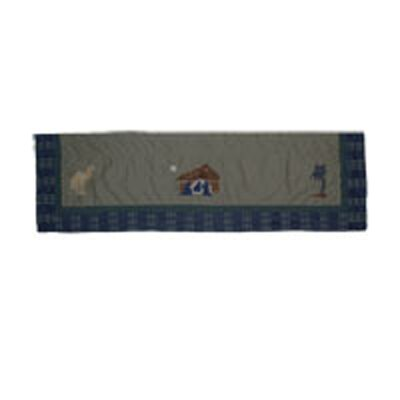 Patch Magic Nativity Cotton Curtain Valance