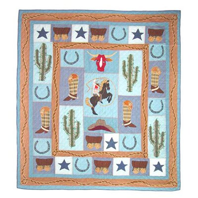Patch Magic Cowboy Duvet Cover