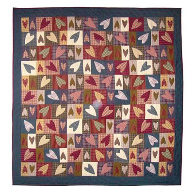 Primitive Hearts Quilt