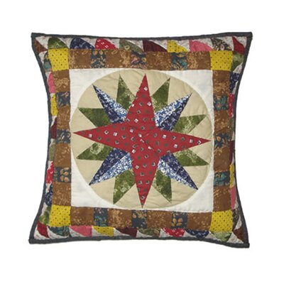 Mariners Star Cotton Toss Pillow