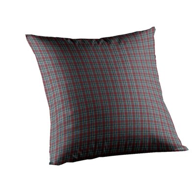 Plaid Fabric Toss Pillow
