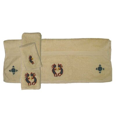 Patch Magic Kokoepelli 3 Piece Towel Set