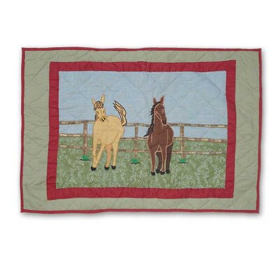 Patch Magic Horse Cotton Sham