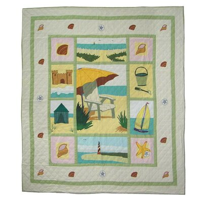 Patch Magic Ocean View Queen Quilt