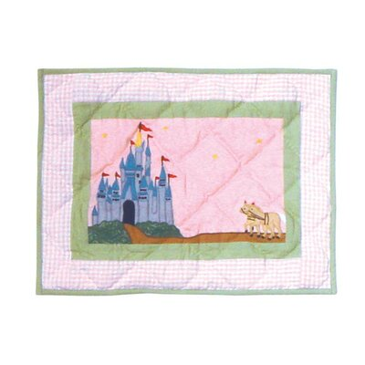 Fairy Tale Princess Cotton Crib Toss Pillow