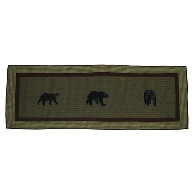 Patch Magic Bear Country Cotton Bed Scarf