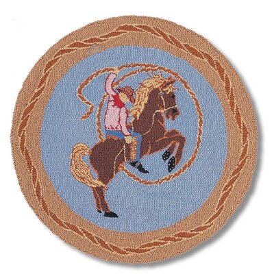 Patch Magic Cowboy Rodeo Kids Rug
