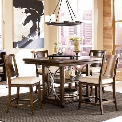 American Drew Essex 5 Piece Counter Height Dining Set