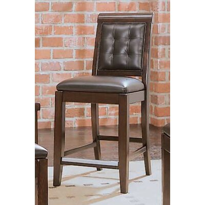 Tribecca Leather Bar Stool