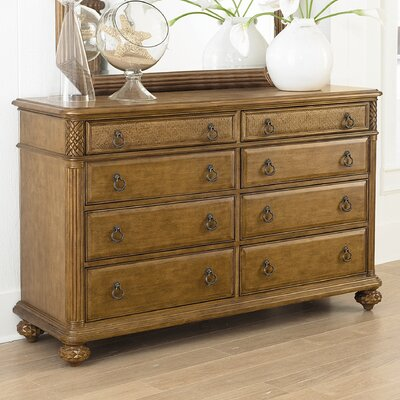 American Drew Grand Isle 8 Drawer Dresser