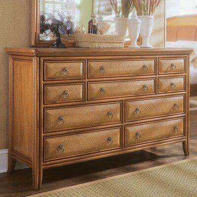 Antigua 10 Drawer Dresser