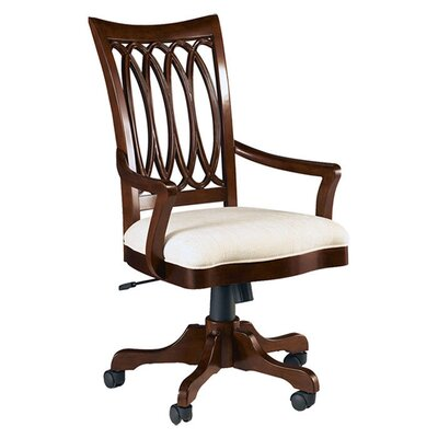 American Drew Cherry Grove New Generation High-Back Wood Office Chair