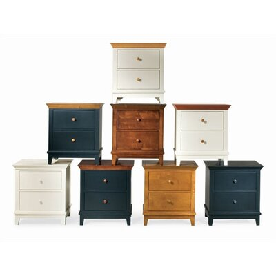 American Drew Sterling Pointe 2 Drawer Nightstand