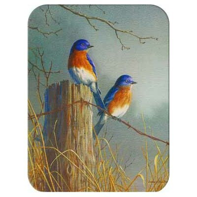 McGowan Tuftop Bluebirds Cutting Board