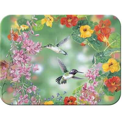 McGowan Tuftop Hummingbirds Cutting Board
