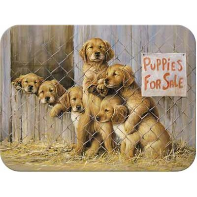 Tuftop Puppies for Sale Cutting Board