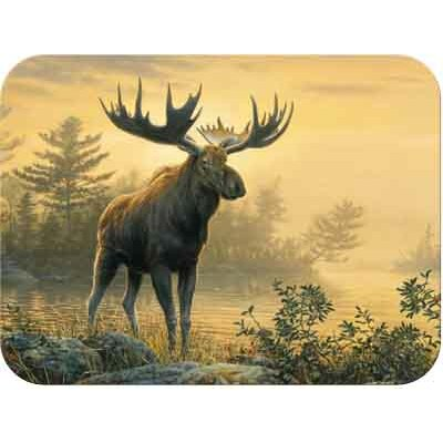 McGowan Tuftop Northwoods Moose Cutting Board