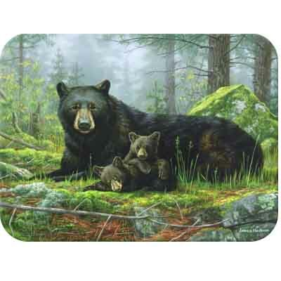 McGowan Tuftop Black Bears Cutting Board
