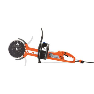 "Husqvarna Cut-N-Break 20 Amp 2.7 HP 120 V 9"" Blade Diameter Electric Saw"