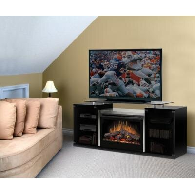 "Dimplex Marana 76"" TV Stand with Electric Fireplace"
