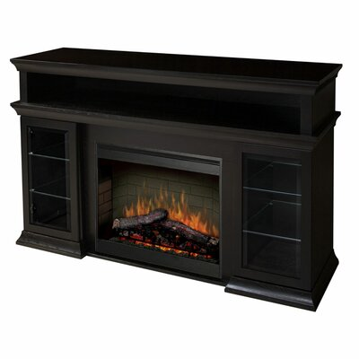 electric fireplace stand allmodern