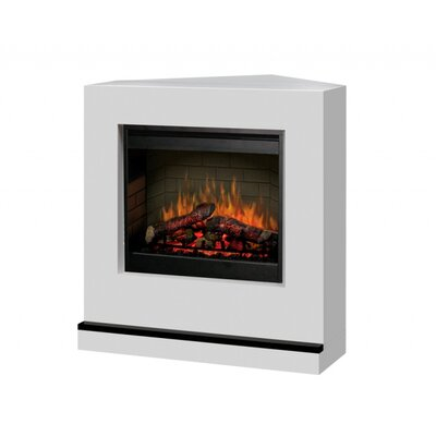Contemporary Convertible II Corner Electric Fireplace
