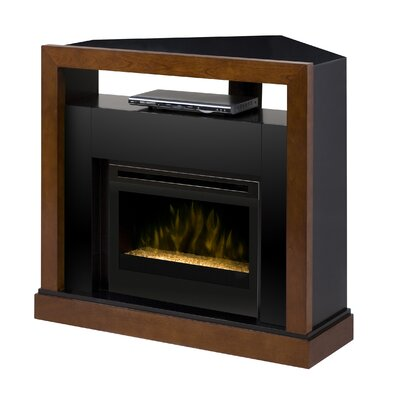 Tanner Media Console Electric Ember Bed Fireplace
