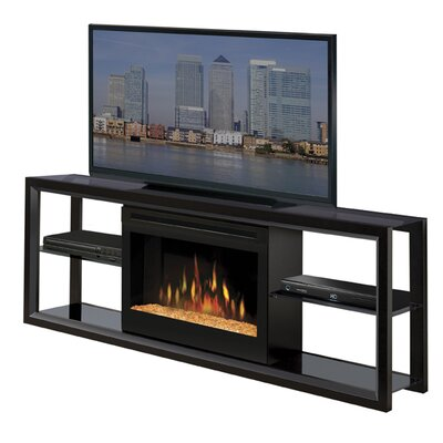 "Dimplex Novara 64"" TV Stand with Electric Fireplace"