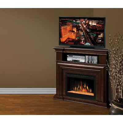 "Dimplex Montgomery 47"" TV Stand with Electric Ember Bed Fireplace"