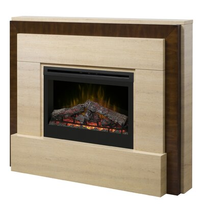 Gibraltar Electric Log Fireplace