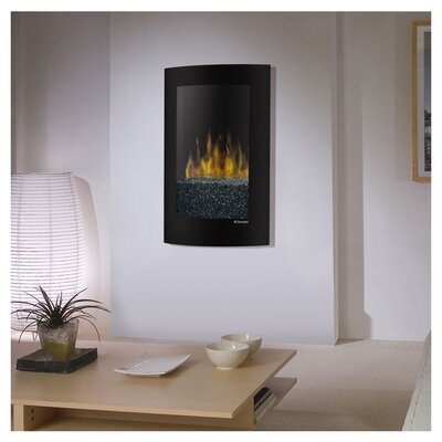 Dimplex Electraflame Convex Wall Mount Electric Fireplace