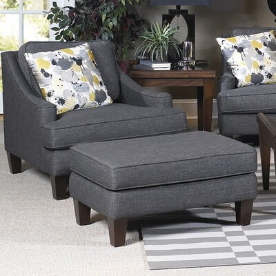 Wildon Home ® Catherine Arm Chair and Ottoman